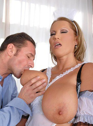 Maid With Huge Tits